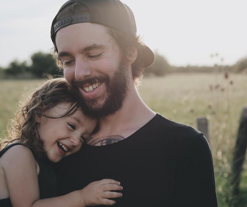 les parents heureux