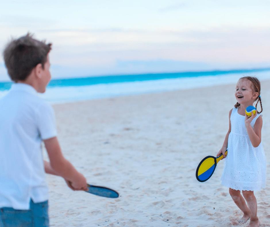 tennis de plage raquette de plage