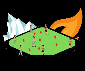 Regle du jeu volcan et glacier