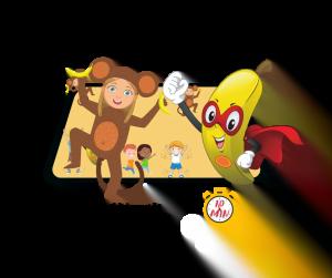 Règle de la super banane jeu de poursuite