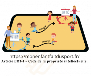 La bataille navale - jeux de poursuite sportif pour enfant