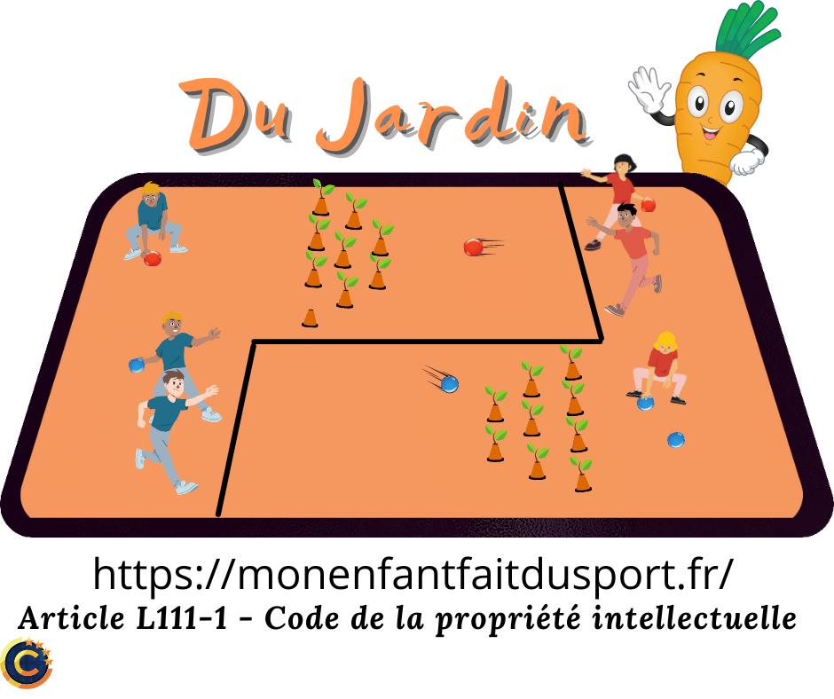 Les carottes du jardin - Jeu de ballon pour enfant - Ludique - règle du jeu