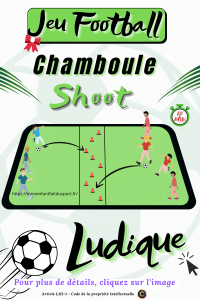 règle du chamboule shoot jeu de ballon de football